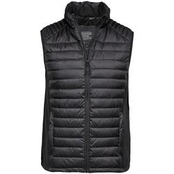 Textiel Heren Vesten / Cardigans Tee Jays Crossover Jet Zwart/Zwart
