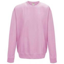 Textiel Kinderen Sweaters / Sweatshirts Awdis JH30J Baby Roze