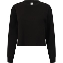 Textiel Dames Sweaters / Sweatshirts Skinni Fit Slounge Zwart