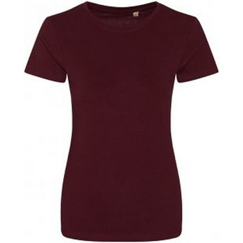 Textiel Dames T-shirts korte mouwen Ecologie Organic Bourgondië