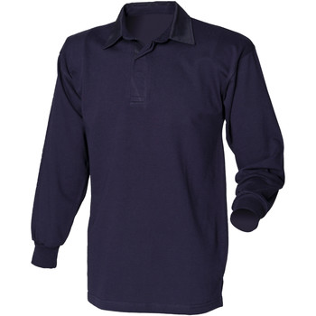 Textiel Heren Polo's lange mouwen Front Row Rugby Marine/Navy