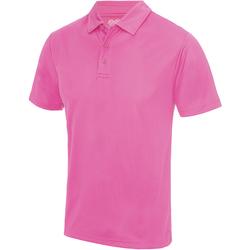 Textiel Heren Polo's korte mouwen Awdis JC040 Elektrisch Roze