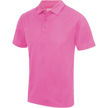 Textiel Heren Polo's korte mouwen Just Cool JC040 Elektrisch Roze