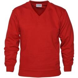 Textiel Heren Sweaters / Sweatshirts Absolute Apparel  Rood