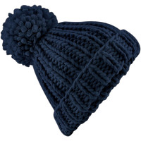 Accessoires Muts Beechfield Knitted Franse marine