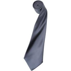 Textiel Heren Krawatte und Accessoires Premier Satin Staal