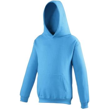 Textiel Kinderen Sweaters / Sweatshirts Awdis Hooded Saffierblauw