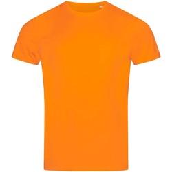 Textiel Heren T-shirts korte mouwen Stedman Active Oranje