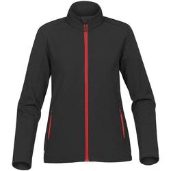Textiel Dames Wind jackets Stormtech Softshell Zwart/Rood