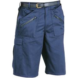 Textiel Heren Korte broeken / Bermuda's Portwest PW103 Donkere marine
