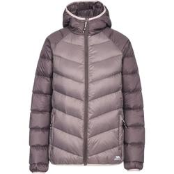 Textiel Dames Dons gevoerde jassen Trespass Kirstin Donkergrijs