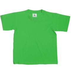 Textiel Kinderen T-shirts korte mouwen B And C Exact 150 Kelly Groen
