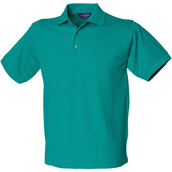 Textiel Heren Polo's korte mouwen Henbury HB400 Jade