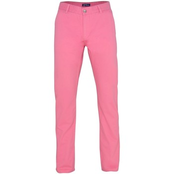 Textiel Heren Chino's Asquith & Fox Casual Roze Anjer