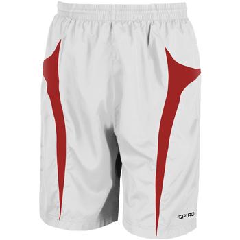 Textiel Heren Korte broeken / Bermuda's Spiro S184X Wit/rood