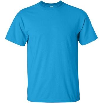 Textiel Heren T-shirts korte mouwen Gildan Ultra Saphire