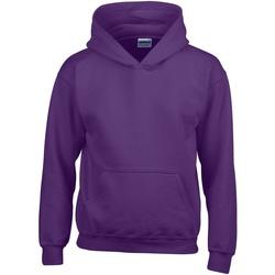 Textiel Kinderen Sweaters / Sweatshirts Gildan Hooded Paars