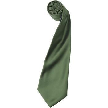 Textiel Heren Krawatte und Accessoires Premier Satin Olijf