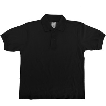Textiel Kinderen Polo's korte mouwen B And C Safran Zwart
