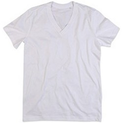 Textiel Heren T-shirts korte mouwen Stedman Stars Organic Wit
