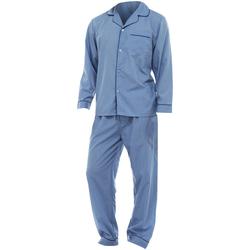 Textiel Heren Pyjama's / nachthemden Universal Textiles  Blauw