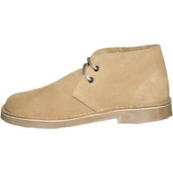Schoenen Dames Laarzen Roamers Round Toe Kameel
