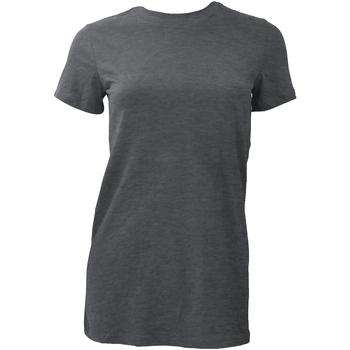 Textiel Dames T-shirts korte mouwen Bella + Canvas BE6004 Donkere Heide