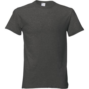Textiel Heren T-shirts korte mouwen Universal Textiles Casual Grafiet