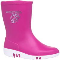 Schoenen Kinderen Regenlaarzen Dunlop  Roze
