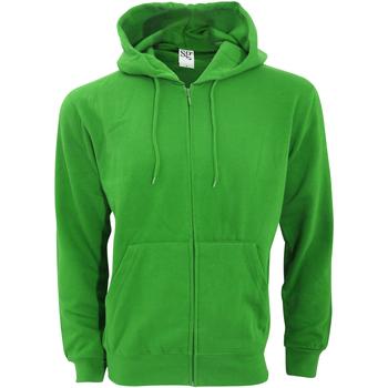 Textiel Heren Sweaters / Sweatshirts Sg Hooded Groen