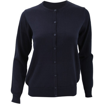 Textiel Dames Vesten / Cardigans Kustom Kit Knit Marineblauw