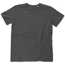 Textiel Heren T-shirts korte mouwen Stedman Stars Stars Donkergrijs