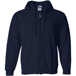 Textiel Heren Sweaters / Sweatshirts Gildan Hooded Marine