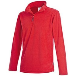 Textiel Heren Fleece Stedman Active Rood