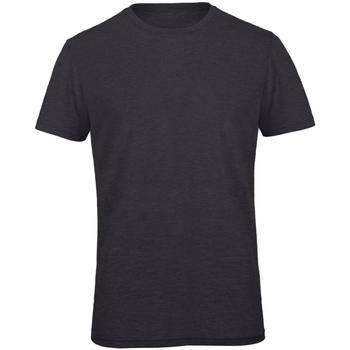 Textiel Heren T-shirts korte mouwen B And C Favourite Heide Donkergrijs