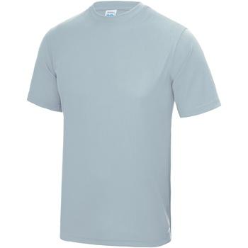 Textiel Heren T-shirts korte mouwen Awdis Performance Hemelsblauw