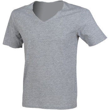 Textiel Heren T-shirts korte mouwen Sf SF223 Heide Grijs