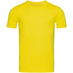 Textiel Heren T-shirts korte mouwen Stedman Stars Morgan Geel