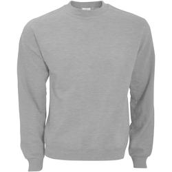 Textiel Heren Sweaters / Sweatshirts B And C WUI20 Heide Grijs