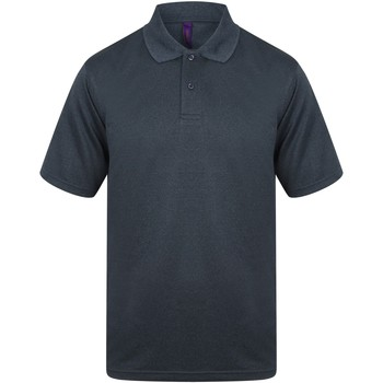 Textiel Heren Polo's korte mouwen Henbury HB475 Heide-Marine