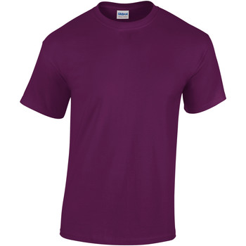 Textiel Kinderen T-shirts korte mouwen Gildan 5000B Paars