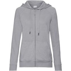 Textiel Dames Sweaters / Sweatshirts Russell Hooded Zilveren mergel