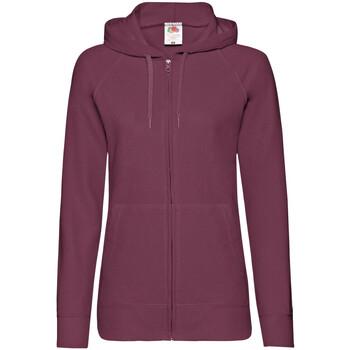 Textiel Dames Sweaters / Sweatshirts Fruit Of The Loom Lightweight Bordeaux