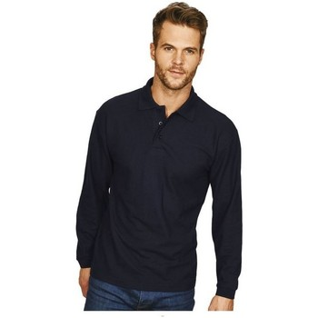 Textiel Heren Polo's lange mouwen Casual Classics Classic Marine