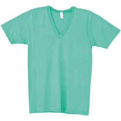 Textiel Heren T-shirts korte mouwen American Apparel AA049 Munt