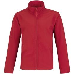 Textiel Heren Fleece B And C Two Layer Rood/Grijs