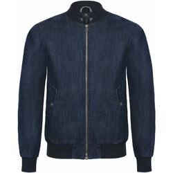 Textiel Heren Spijker jassen B And C Supremacy Diep blauw denim