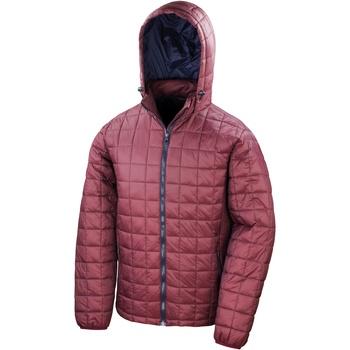 Textiel Heren Dons gevoerde jassen Result Blizzard Robijn/Zwaar