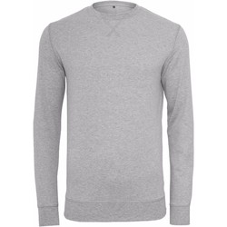 Textiel Heren Sweaters / Sweatshirts Build Your Brand BY010 Heide Grijs