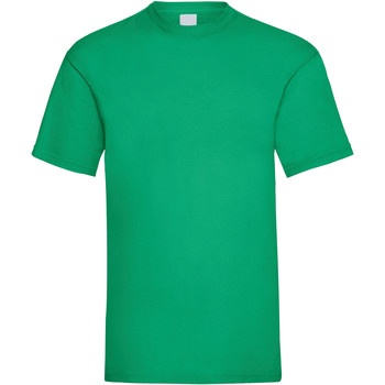 Textiel Heren T-shirts korte mouwen Universal Textiles Casual Groen